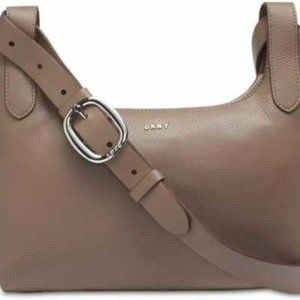 DKNY Wes Pebble Leather Crossbody Leather